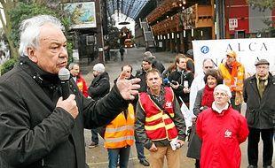 Le maire de Nantes, Patrick Rimbert, a apporté son soutien mercredi.