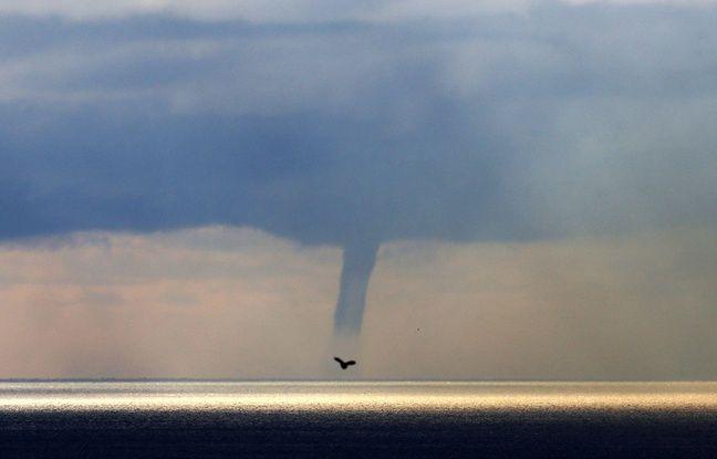 VIDEO. Corse: Une impressionnante trombe marine près de Bastia, l'île placé en vigilance orange aux orages