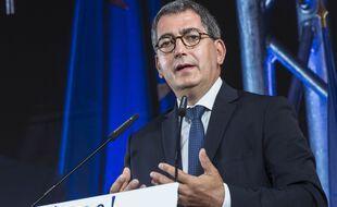 Jean Rottner, président sortant de la région Grand-Est.