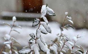 De la neige a fait son apparition lundi 30 avril, dans le nord de l'Eure (illustration).