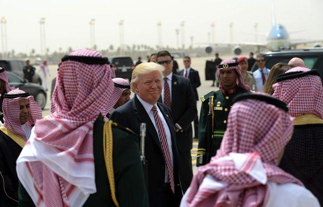 Etats-Unis: Un diplomate sans voix après une question sur la démocratie en Arabie saoudite dans actualitas fr 648x415_donald-trump-voyage-officiel-arabie-saoudite-riyad-22-mai-2017