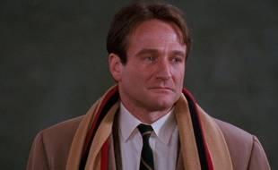 Robin Williams dans «Le Cercle des poètes disparus».