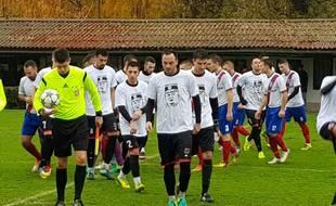 Les joueurs du Kabel Novi Sad...
