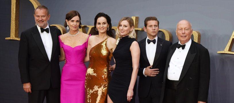 Une partie du casting de Downton Abbey à l'avant-première du film à Londres en 2019