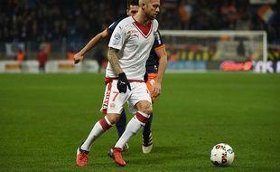Le joueur a été expulsé à la 38e minute.