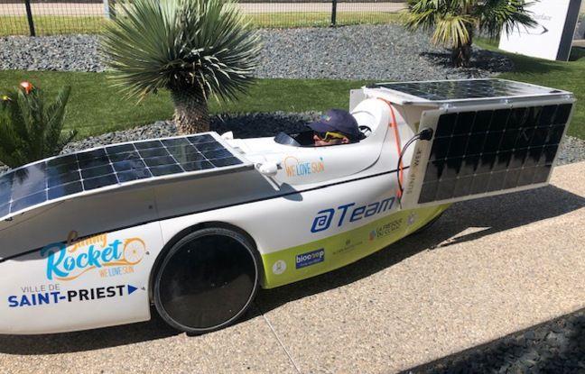 Pour sa première participation à Sun Trip, le Lyonnais Arnaud Negrier partira avec un vélo solaire qui ne ressemble à aucun autre.