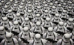 Les Storm troopers lors du salon D23 Expo à Anaheim aux Etats-Unis, le 14 août 2015