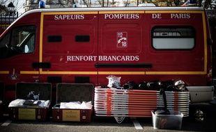 Un camion de la brigade des sapeurs-pompiers de Paris. (Illustration)