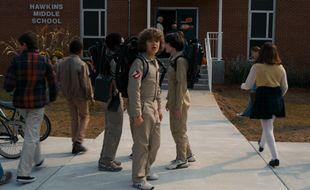 Dans la saison 2, les gamins de Stranger Things vont se déguiser en Ghostbusters