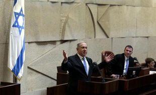 Le Premier ministre israélien Benjamin Netanyahu, le 14 mai 2015 à Jérusalem