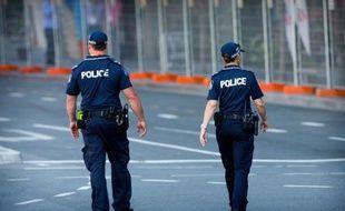Policiers australiens le 12 novembre 2014 à Brisbane