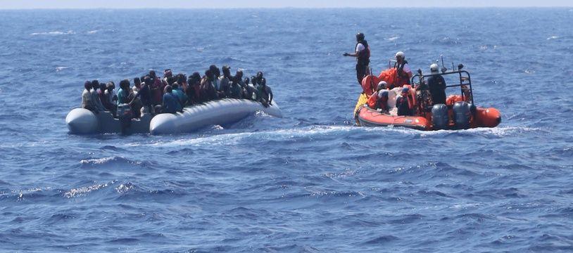 Les 176 migrants recueillis dans le week-end ont été sauvés lors de deux missions distinctes.