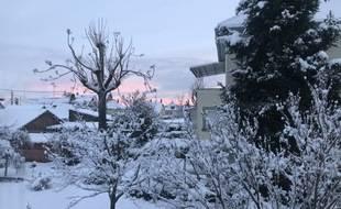 Entre le 14 et le 18 janvier, la neige avait recouvert l'agglomération strasbourgeoise.