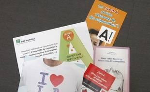 Des publicités pour le Livret A.