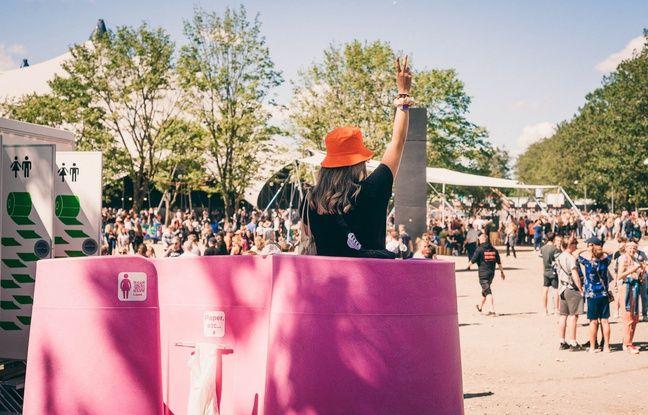 Rennes: Un urinoir mobile féminin installé ce jeudi sur le mail Mitterrand