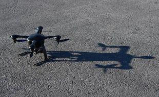 Une nouvelle version d'un drone présenté à un salon de la technologie à Las Vegas, le 8 janvier 2015