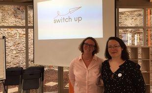 Gabrielle Rodier (à droite) et Cécile Renault, les créatrices de Switch Up.