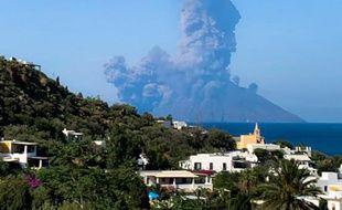 Le Stromboli est entré en éruption ce mercredi 3 juillet 2019.