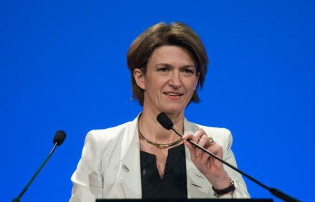 Isabelle Kocher, désormais directrice générale d'Engie, à Paris le 3 mai 2016