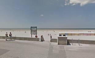 Illustration de la plage de Berck-sur-Mer, dans le Pas-de-Calais.