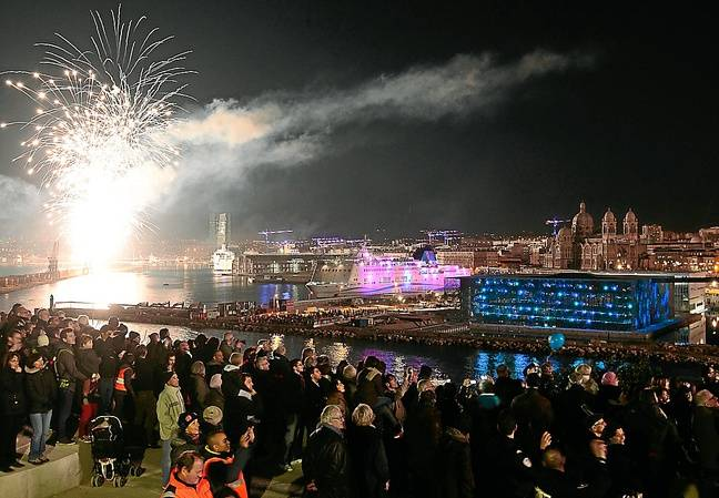 Marseille le 12 janvier 2013 - Soirée d'inauguration de Marseille Provence 2013 capitale de la culture.