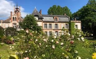 Le château de Rosa Bonheur, qui accueille le festival du même nom.