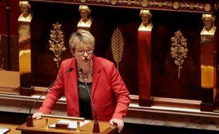 La maire de Rennes, Nathalie Appéré (PS), le 10 mars 2015 à Paris