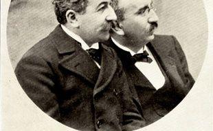 Louis et Auguste Lumière