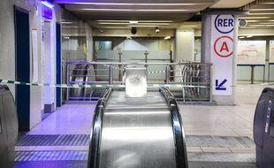 Un couloir de la gare de Lyon.