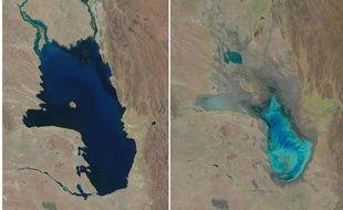 Le lac Poopó, considéré comme le plus grand de Bolivie, a en l'espace de vingt-cinq ans presque disparu.