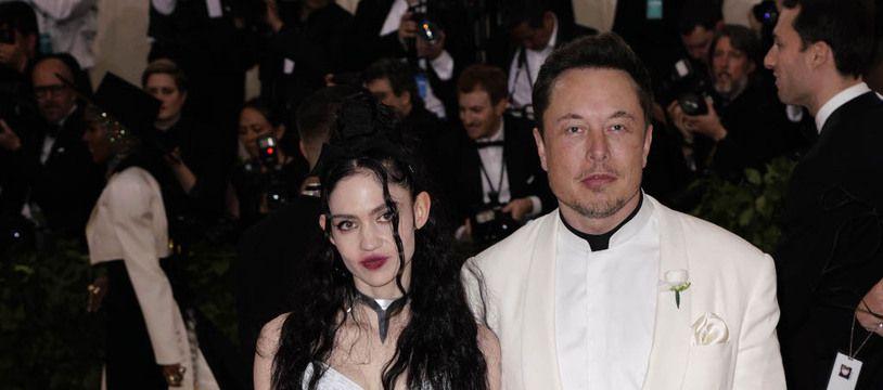 L'artiste Grimes et son compagnon, le milliardaire Elon Musk