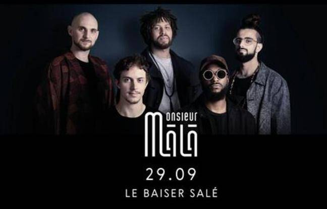 Le groupe jazz Monsieur Mâlâ