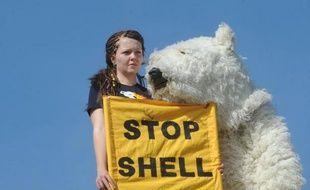 Le géant pétrolier anglo-néerlandais Royal Dutch Shell a été la cible jeudi de militants écologistes qui ont imité son site internet et mis en ligne une fausse vidéo pour dénoncer le forage du groupe dans l'Arctique.