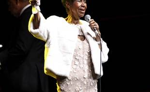 Aretha Franklin en novembre 2017.