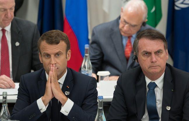 Brésil: Jair Bolsonaro dénonce le silence d'Emmanuel Macron au sujet des incendies en Australie