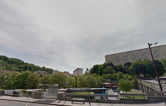 Les abords de la station de métro Gorge-de-Loup, à Lyon