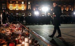 Emmanuel Macron à Strasbourg