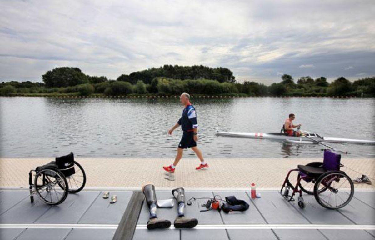 Des athlètes paralympiques anglais, le 21 août 2012 – DAVID BEBBER/THE TIMES/SIPA