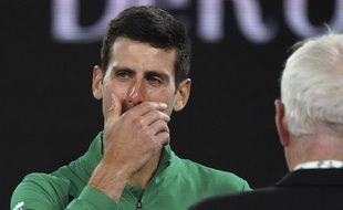 Novak Djokovic évoque avec émotion la disparition de Kobe Bryant, après sa victoire contre Raonic en quarts de finale de l'Open d'Australie.