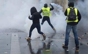 La manifestation des gilets jaunes à Nantes s'est déroulée dans un climat tendu
