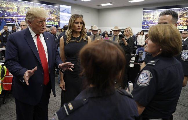 VIDEO. Fusillades aux Etats-Unis: Trump visite les villes endeuillées, Joe Biden l'attaque frontalement