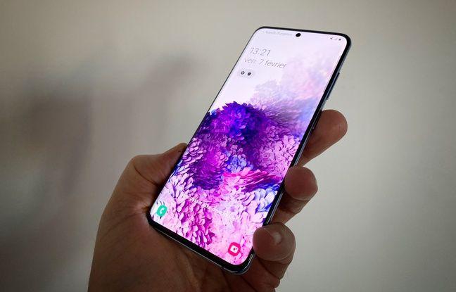 Le Galaxy S20 de Samsung, commercialisé dès le 13 mars.