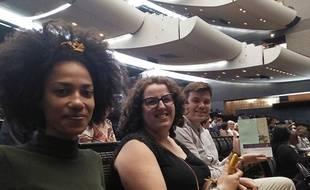 Mélissa, Clara et Etienne désormais parfaitement à l'aise quand ils vont à l'Opéra.
