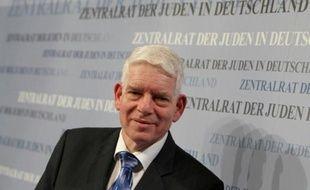 Le président du Conseil central des juifs d'Allemagne, Josef Schuster, le 30 novembre 2014 à Francfort