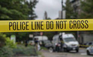 Une scène de crime aux Etats-Unis (illustration).