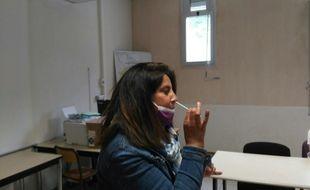 Lancement de la campagne des autotests au lycée Marseilleveyre à Marseille