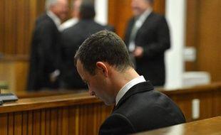 Oscar Pistorius le 7 juillet 2014 au tribunal à Pretoria