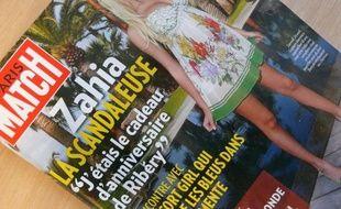 Couverture de Paris Match, daté du 29 avril 2010.