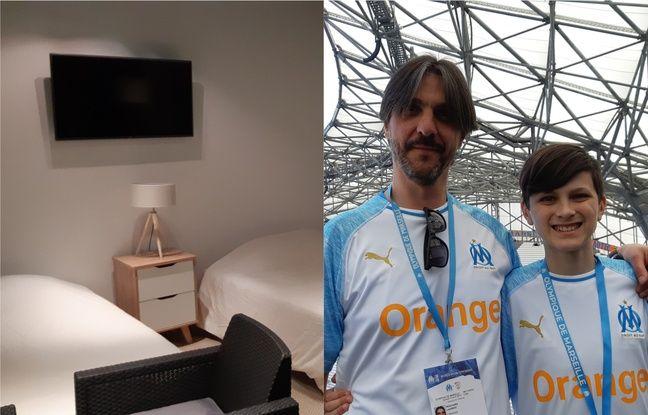 OM: «Comme dans un rêve!» Deux supporters vont passer la nuit au Vélodrome, après Marseille-Nîmes