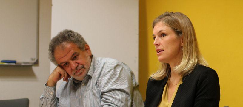 La leader du groupe d'opposition Carole Gandon (LREM) et le conseiller municipal Olivier Dulucq critiquent le refus d'accueillir le Grand départ du Tour de France en 2021.
